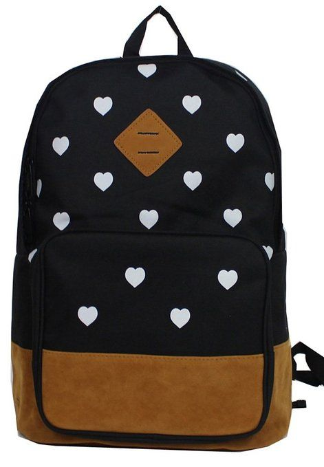 Amazon.com: Wingler Fashion  Backpack #backpack #bookbag #heart