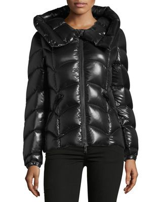 1b4ec3b95 Akebia Hooded Wave Puffer Jacket in 2019   Products   Puffer jackets ...
