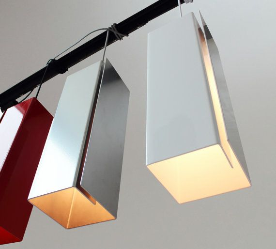Metal Folded Pendant Light Sedurst Archinect Metal Lamp Shade Metal Lighting Metal Lamp