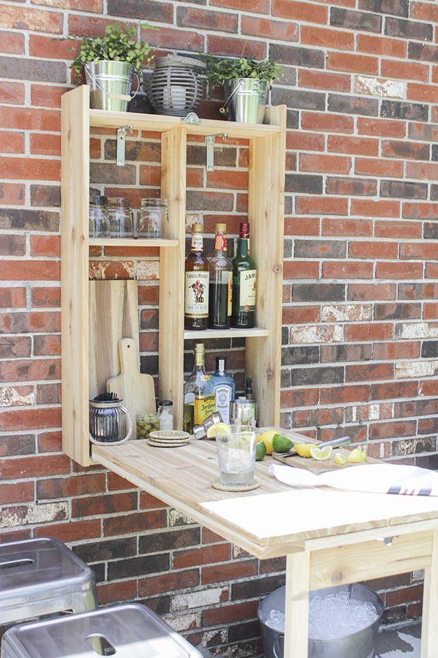 How To Build An Outdoor Murphy Bar Using Cedar Wood Easy