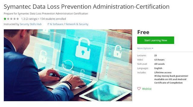 Coupon Udemy - Symantec Data Loss Prevention Administration ...