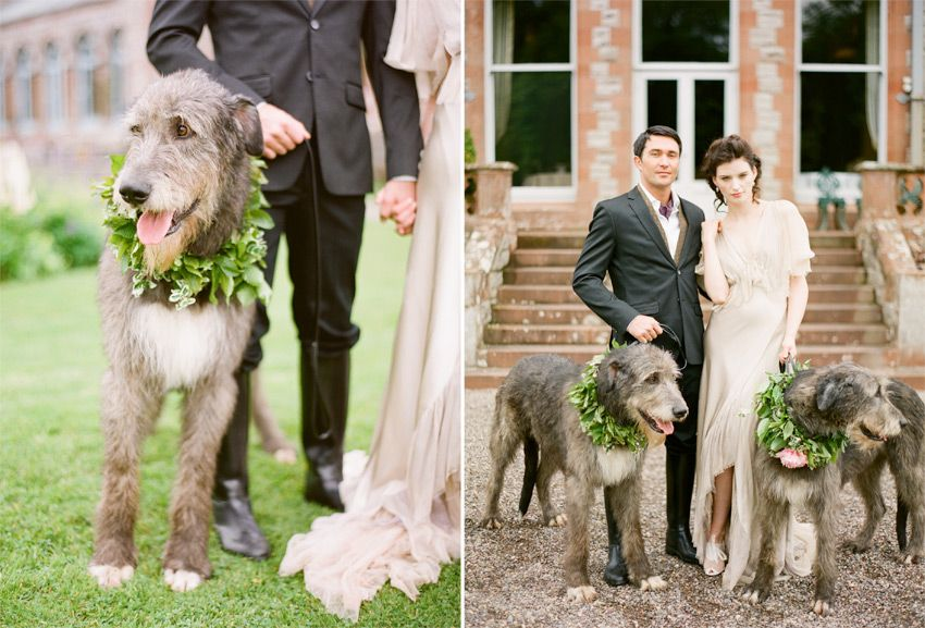 A Wedding Love Story At Castle Leslie In Glaslough Ireland