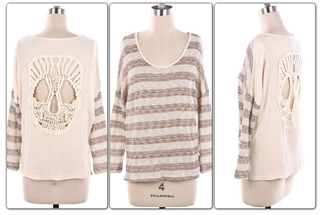 Skully Knit $47 www.womensboutiqueclothing.com