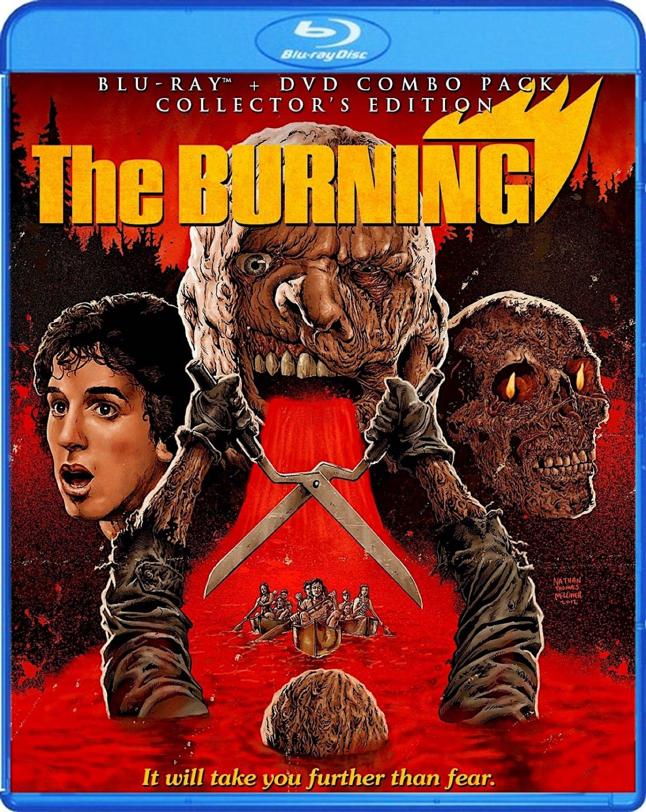 THE BURNING COLLECTOR'S EDITION SCREAM FACTORY BLURAY