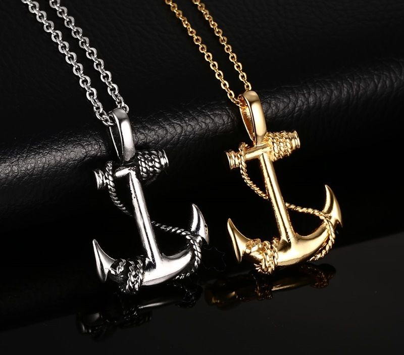 Hot sales pirates of the caribbean anchor 2 color pendants wholesale hot sales pirates of the caribbean anchor 2 color pendants wholesale pendant and choker chain necklace aloadofball Image collections