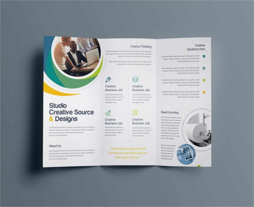 049 X Brochure Template Free Download Powerpoint Tri Fold Of In 2020 Free Brochure Template Business Card Template Word Free Business Card Templates
