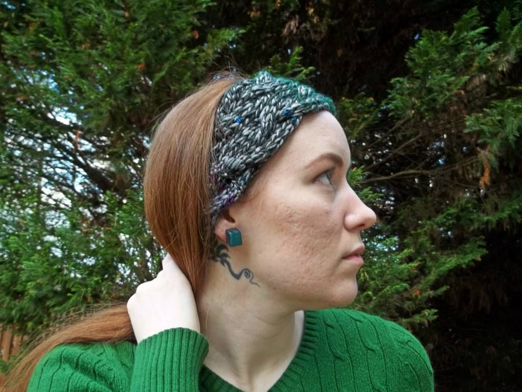 Braided Cable Headband Ear Warmer - | une maille...deux | Pinterest ...