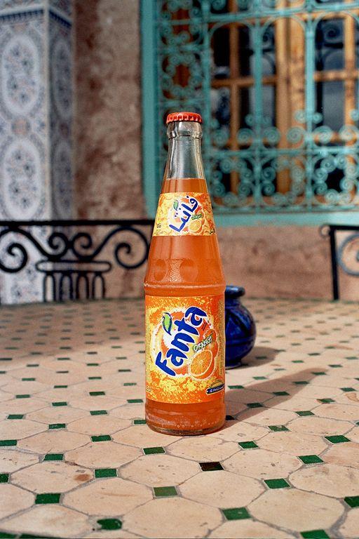 Fanta En Marruecos Fanta Bottle