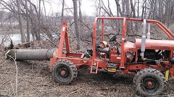 Doodlebug Skidder Farm Tractors For Sale in NY   Want Ad ...