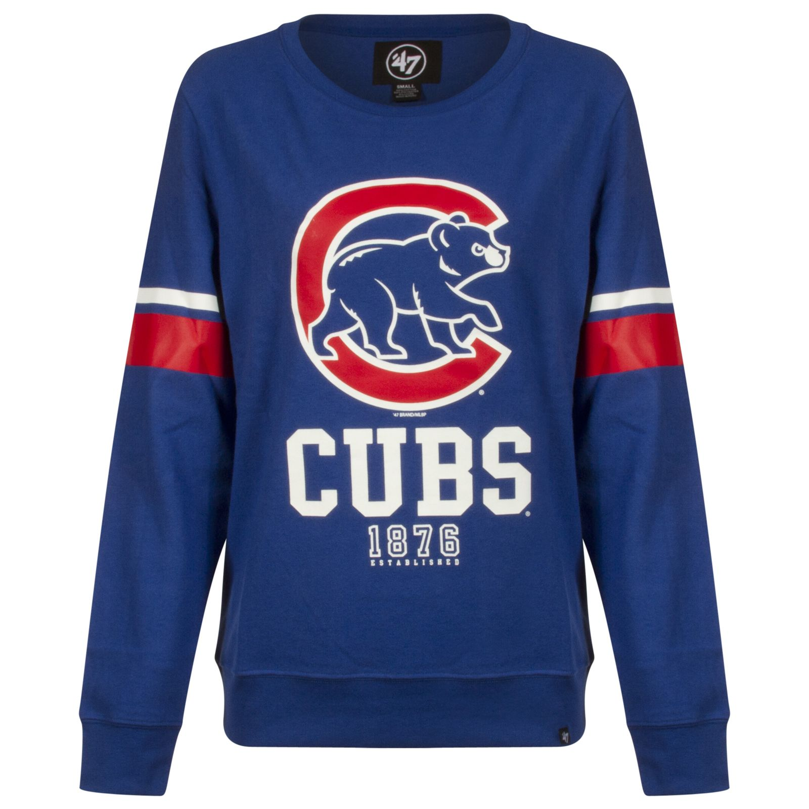 Chicago Cubs Womens Royal Crawl Bear Logo Soft Crew Neck Sweatshirt By 47 Brand Chicago Cubs Chicagocubs Cubs Clothes Chicago Cubs Womens Chicago Cubs Gear [ 1600 x 1600 Pixel ]