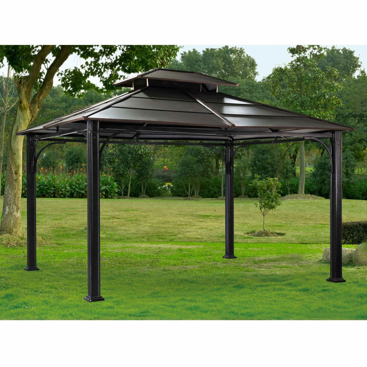 Concord Metal Roof Gazebo Installation In 2020 Gazebo Installation Patio Gazebo Hardtop Gazebo