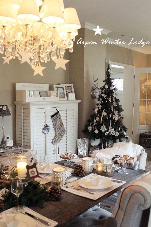 Riviera Maison Christmas decor Riviera maison Pinterest - winter deko wohnzimmer