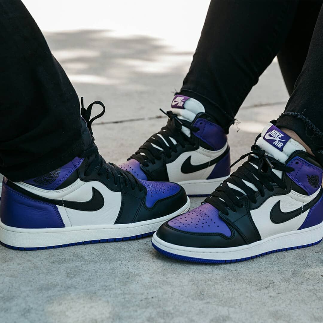 166dc12bee5db8 Air Jordan 1 Retro High OG « Court Purple »