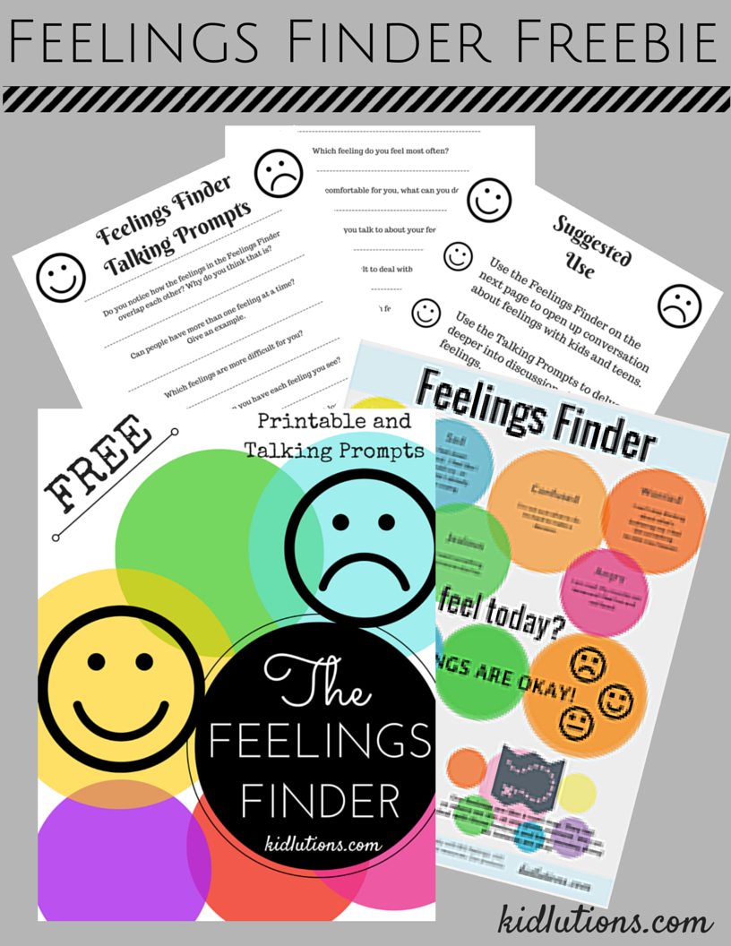 Teaching Teenagers To Cope With Social >> Spin Doctor Parenting Feelings Finder Helping Kids And Teens Cope