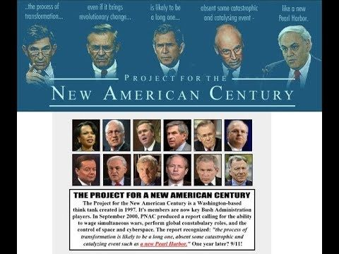 The Project For A New American Century Blueprint For The Nwo Guilty Attack The Conspirator