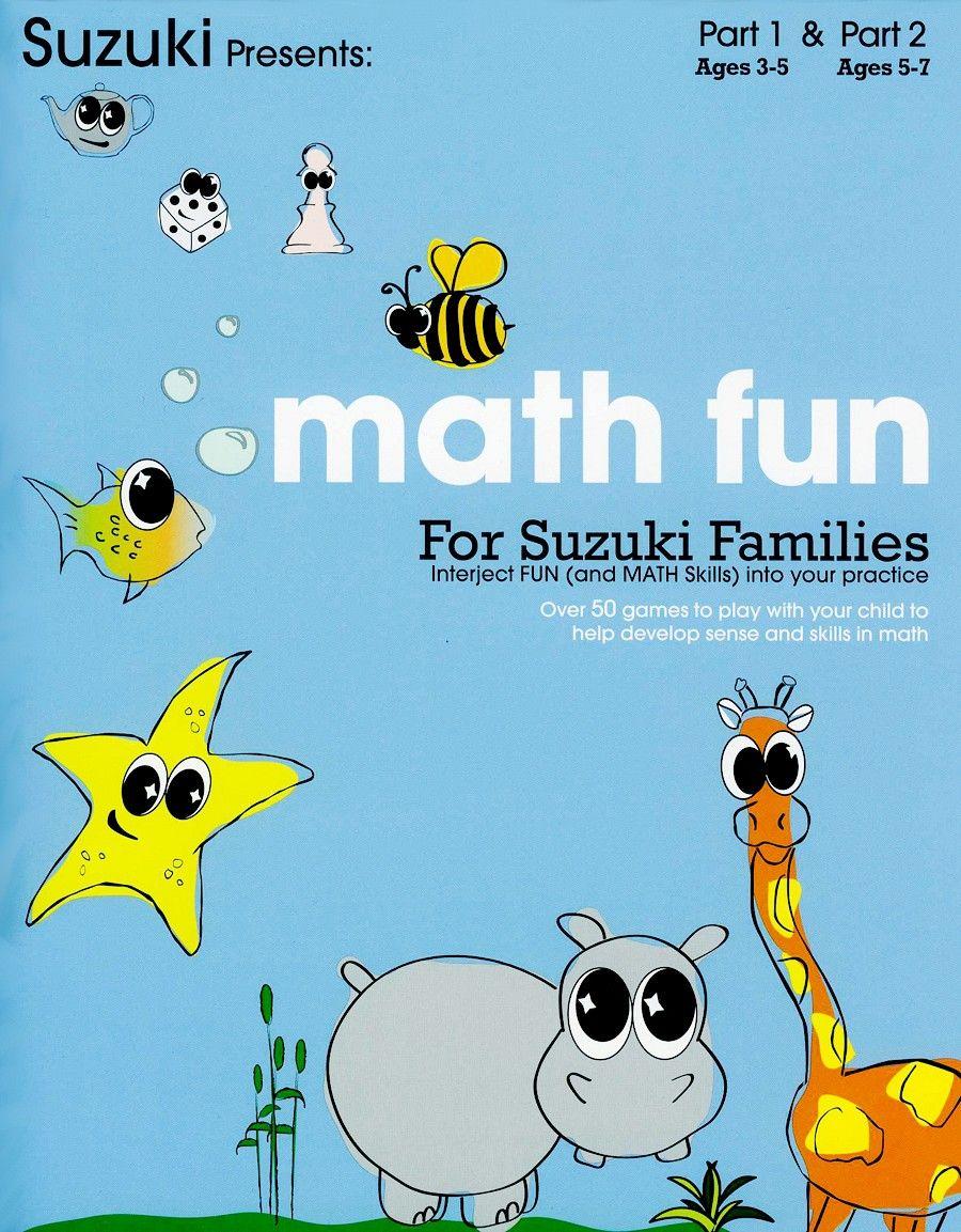 Math Fun for Suzuki Families Fun math, Math for kids, Math