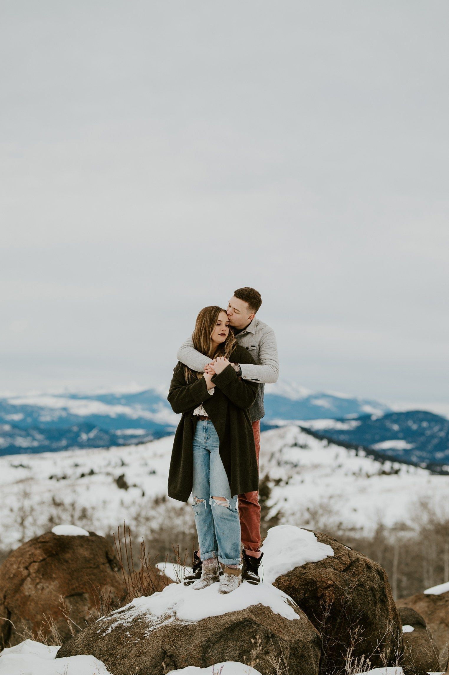 Masterminds Winter Engagement Session   Winter engagement ...