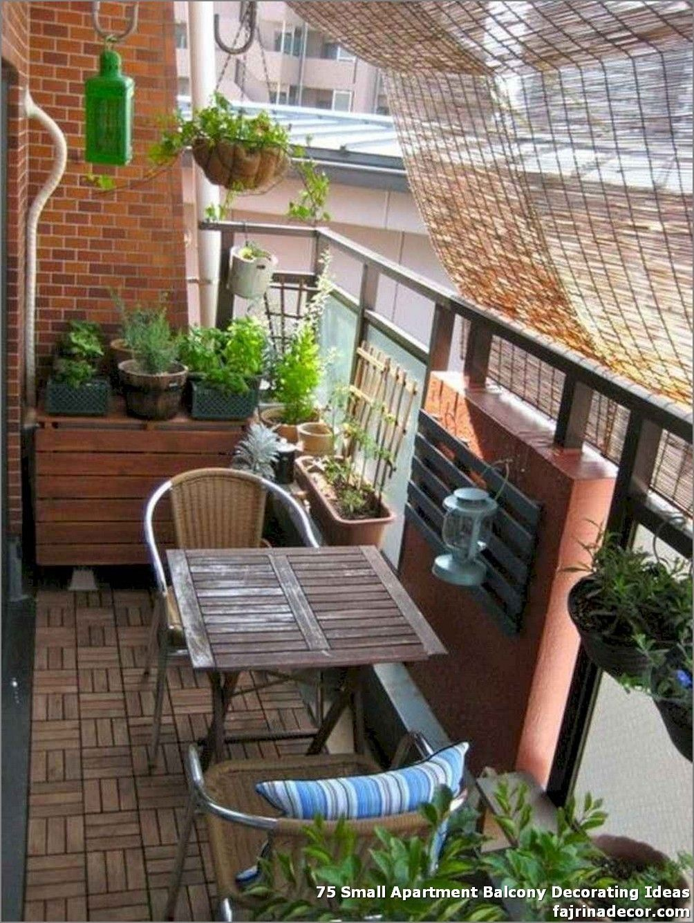 How To Get Privacy On Apartment Balcony