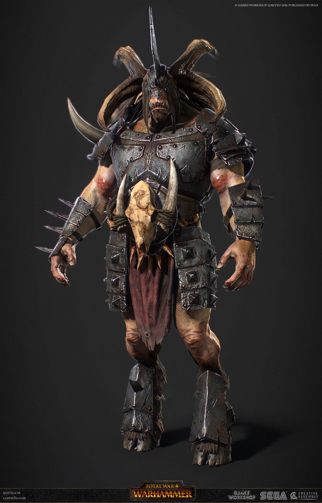 Beastman 3D Porn pinjosh purple on art | warhammer art, fantasy concept