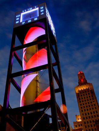 kansas city power light district clock tower design that s worth rh pinterest com