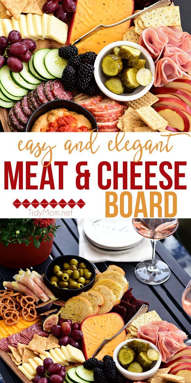 Photo of Easy and Elegant Meat and Cheese Board