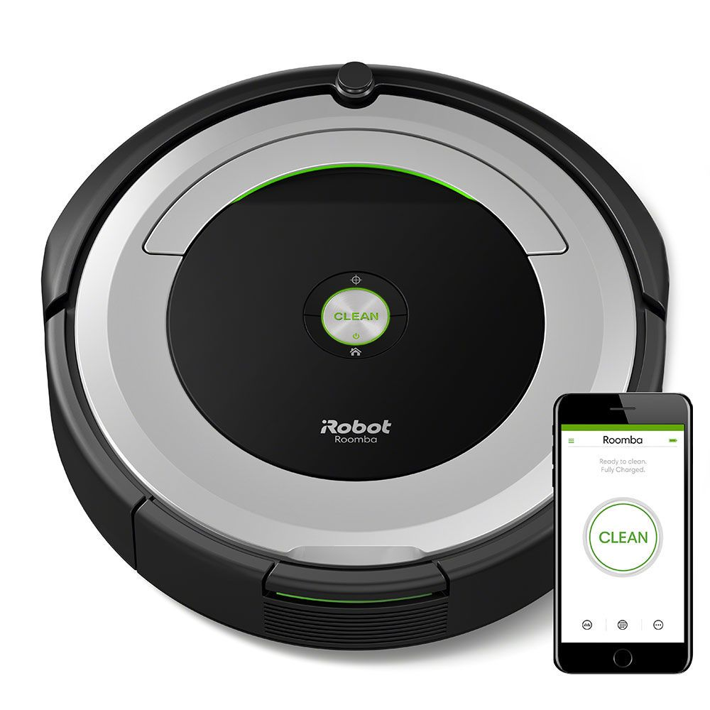 Connect to CLEAN from anywhere with the Roomba® 690 WiFi