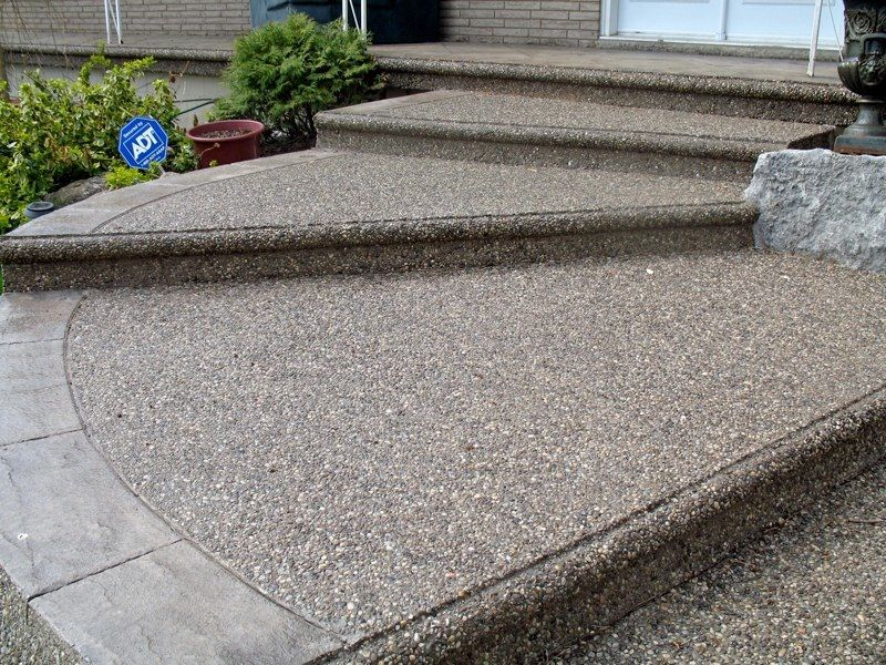 Exposed Aggregate Master Concrete Interlocking Ltd