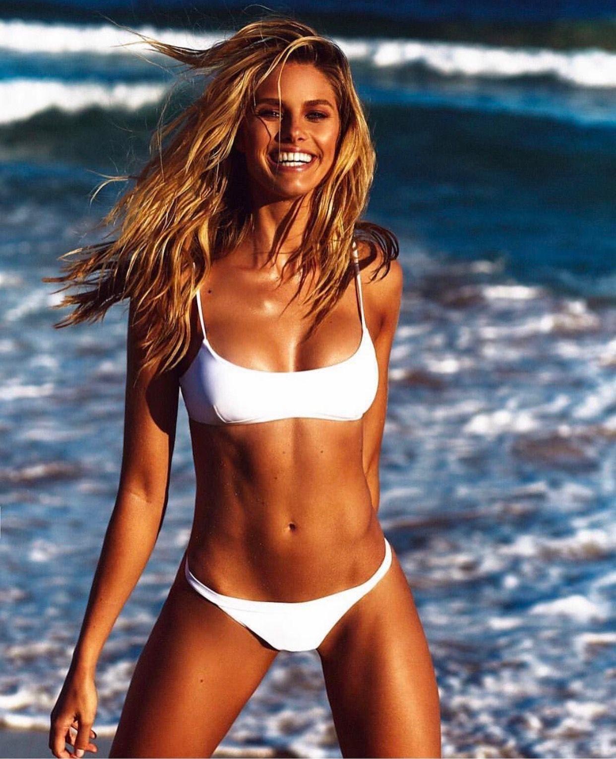 f5f784799f Natalie Roser Push Up Swimsuit, Swimsuit Tops, Halter Bikini, Bikini  Swimwear, Sexy