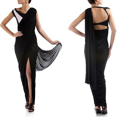 Fashion Enabler Series: Bikini Sari - Say What?!? ~ Sorelle Grapevine