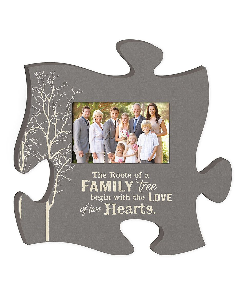 Look What I Found On Zulily Family Tree Puzzle Piece