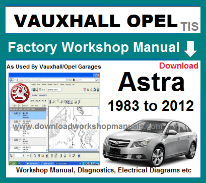Vauxhall Opel Astra Workshop Workshop Manual Wiring Diagrams In 2020 Vauxhall Repair Manuals Opel