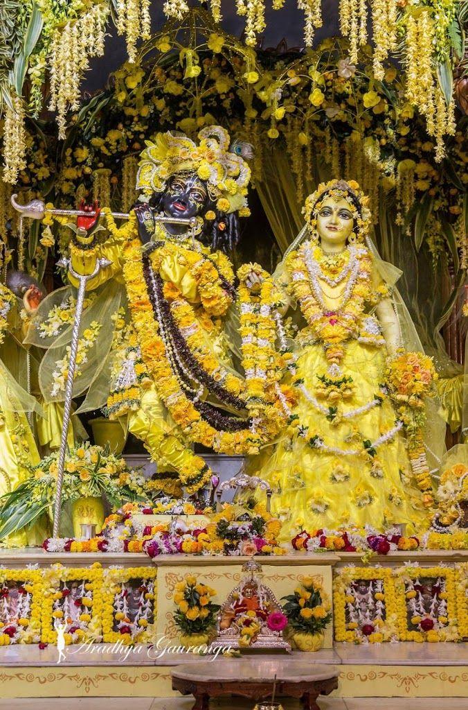 ISKCON Mayapur Deity Darshan 1 Feb 2017 (19)   Radha kishan