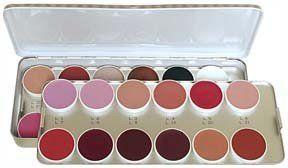 Kryolan 1208 Lip Color Palette 24 Color (Classic)