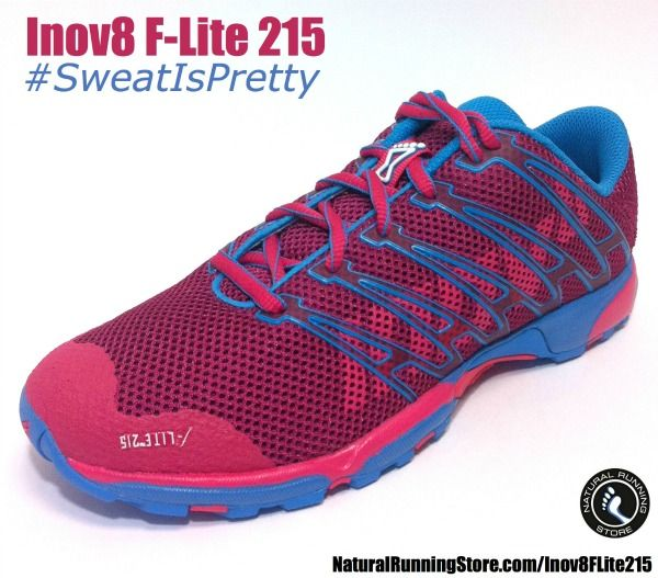 7c104e1dd585b0 Inov8 F-Lite 215  running and  crossfit shoe for the ladies.