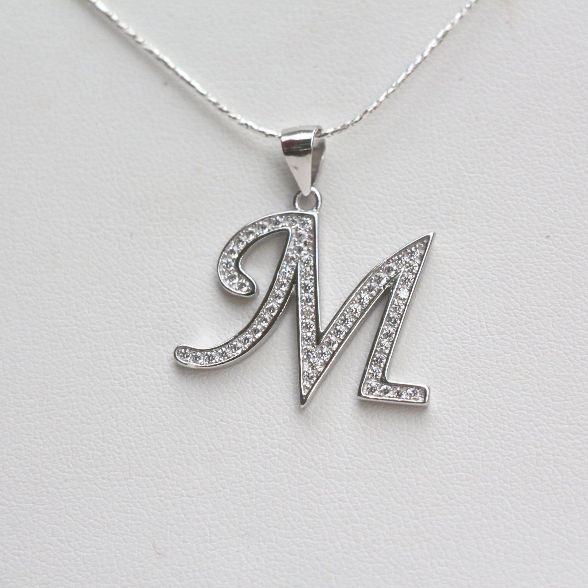 excited to share the latest addition to my etsy shop silver initial necklace