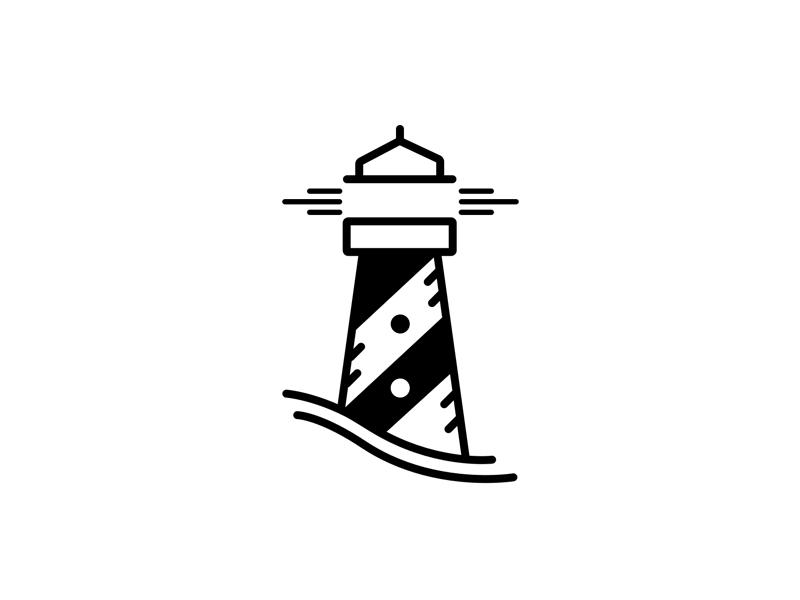 Lighthouse Logo Design Tatuirovka Puteshestvie Tatuirovki Hudozhestvennye Illyustracii