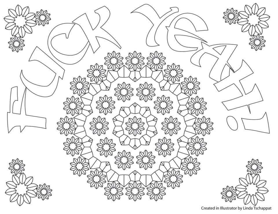 Pin By Valarie Ante On Color Me Sweary Coloring Pages Pinterest