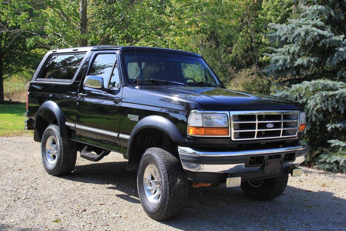 1996 Ford Bronco Xlt Ford Bronco For Sale Ford Bronco Bronco