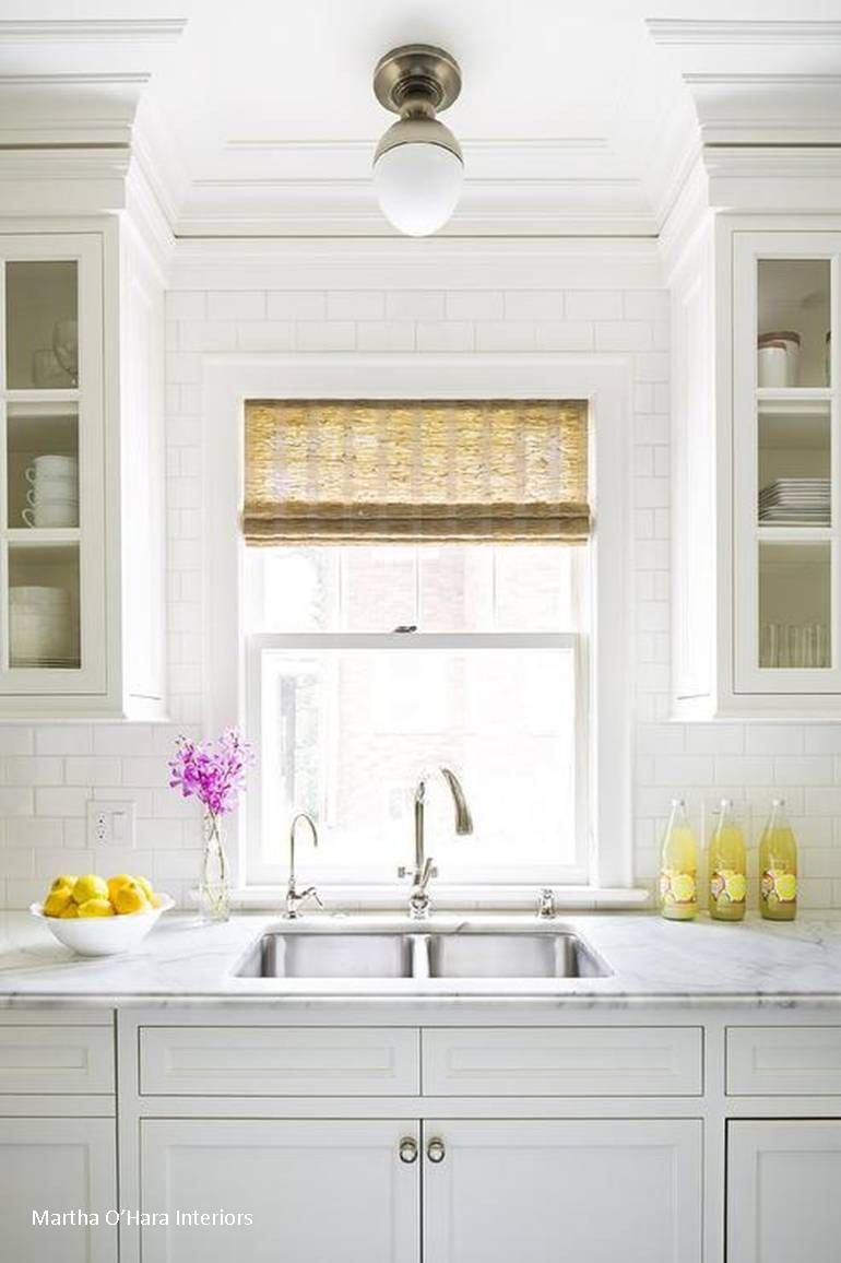 Visual Comfort Clark Flush Mount Kitchen Wall Tiles Kitchen Wall Design Kitchen Sink Lighting