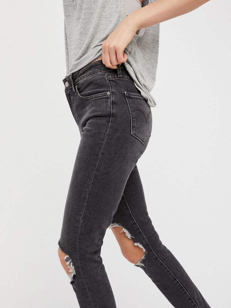ec78855bac7d Levi's 721 High Rise Skinny Jeans | Skinny jeans featured in a flattering  long and lean