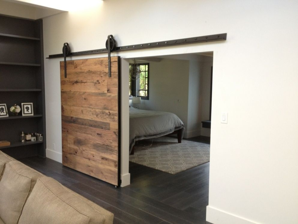 The Sliding Barn Doors Lowes Can Add A Realistic Look To Any