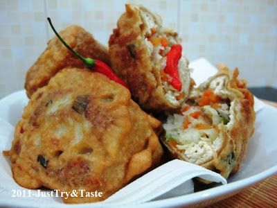 Resep Tahu Berontak Isi Kol Wortel Daun Bawang Resep Tahu Resep Resep Makanan