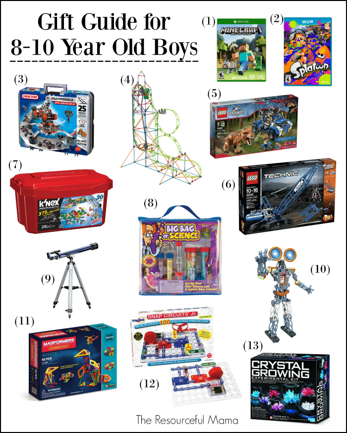Gifts 8 10 Year Old Boys