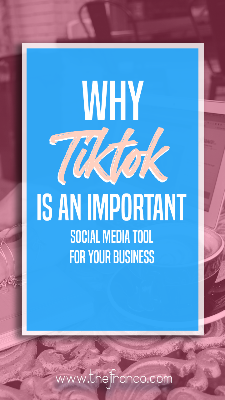 Why Tiktok Is An Important Social Media Tool For Businesses Three Reasons Why Your Business Need Social Media Tool Social Media Business Strategy Social Media