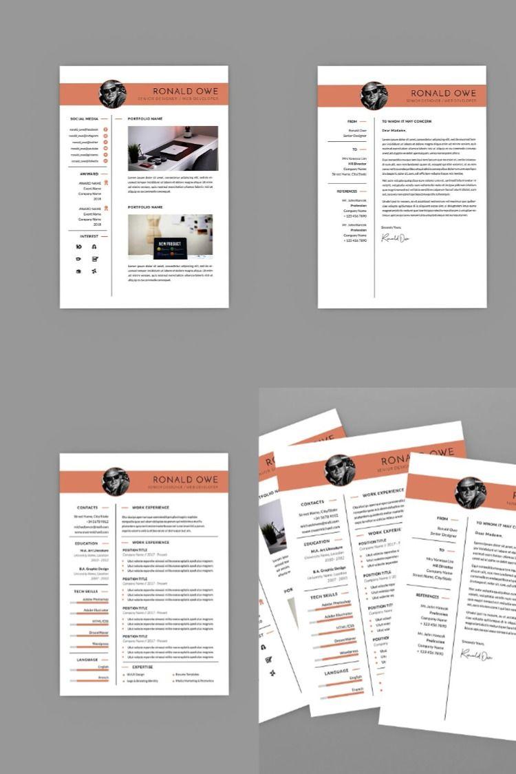 Ronald Senior Web Resume Designer Resume words skills