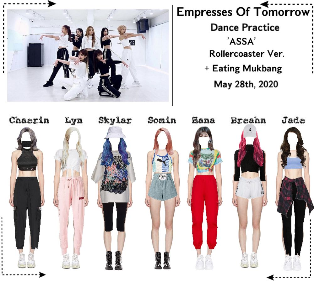 Pin By Ashley On Eot Sets Outfits Dance Outfits Practice Practice Outfits Kpop Outfits