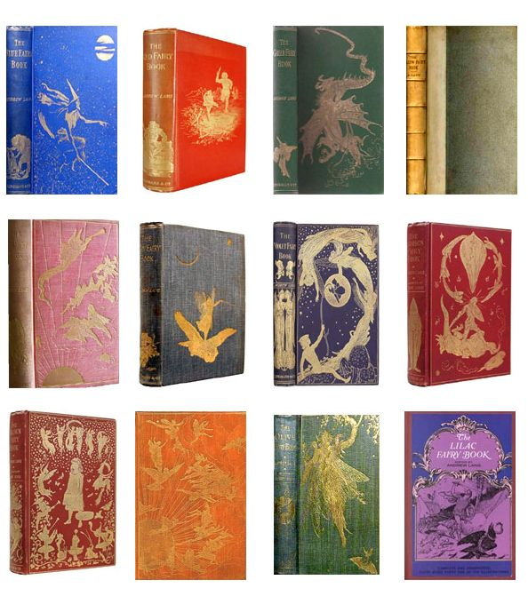 Image result for andrew lang's twelve fairy books