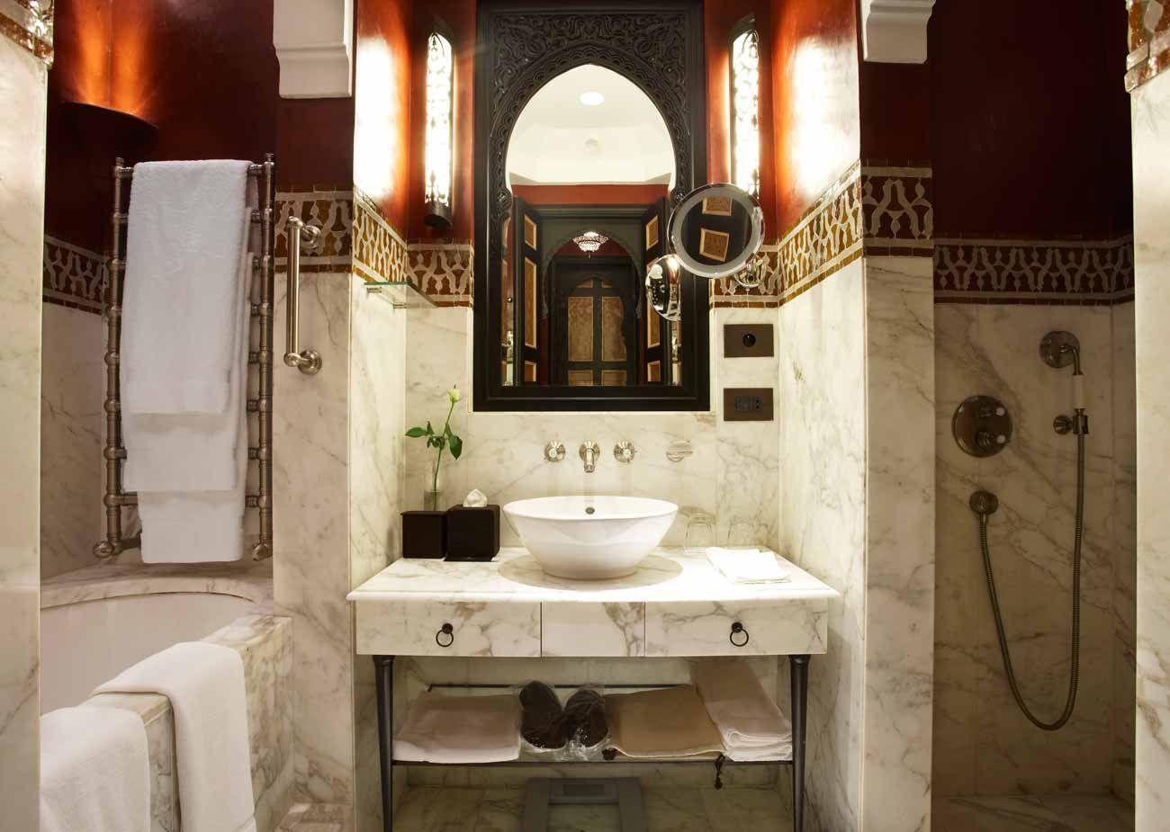 Chambres d 39 h tel de luxe marrakech la mamounia archi - Prix chambre hotel mamounia marrakech ...