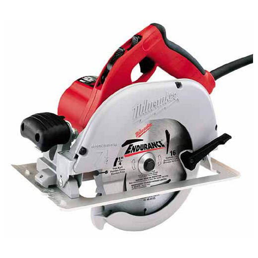 "Milwaukee 639121 71/4"" Circular Saw Kit 15amp Left Hand"