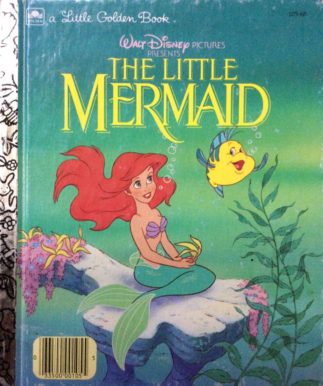 Walt Disney S The Little Mermaid Little Golden Book Little Golden